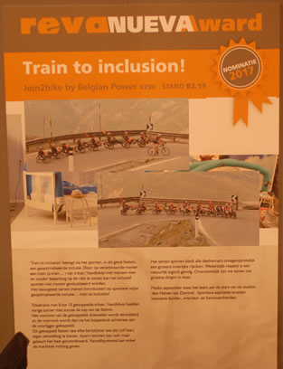 Poster 'Train to inclusion'